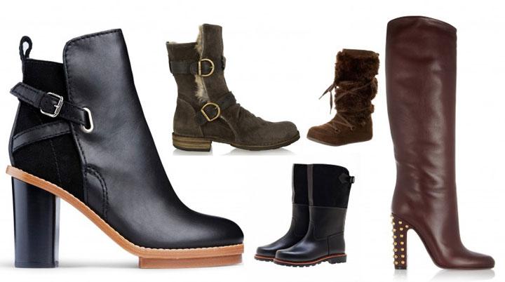 зимняя женская обувь больших размеров