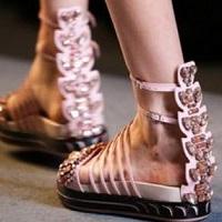 женские сандали поперечины