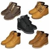 Начало завоза зимней мужской обуви в розничные магазины KingShoe