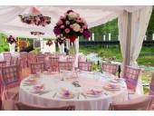 Услуги современной флористики по оформлению цветами свадебного торжества